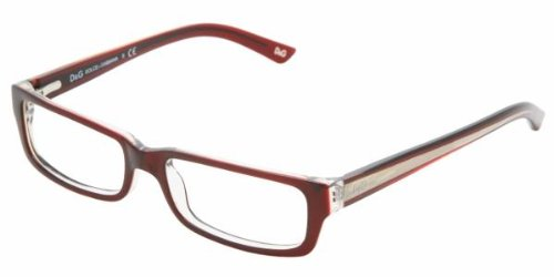 Amazon.com: D&g By Dolce & Gabbana 1167 Burgundy On Transparent ...