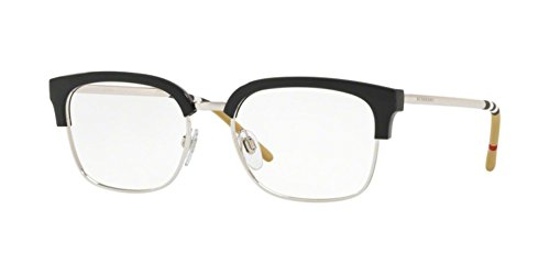 - Burberry Men's BE2273 Eyeglasses Black/Silver 54mm