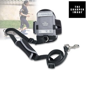 the-best-sharper-image-all-in-one-hands-free-armband-pet-leash-sil-603-the-sharper-image-all-in-one-
