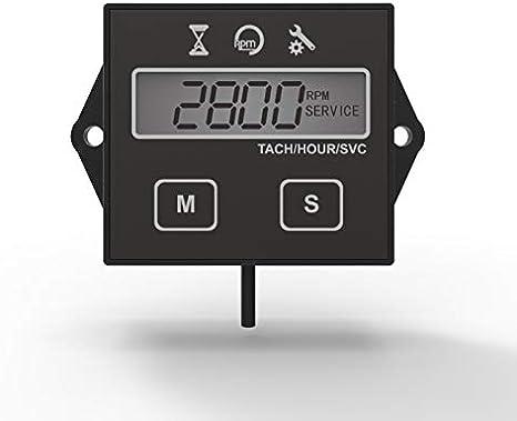 Amazon.com: Runleader - Tacómetro digital con contador de ...