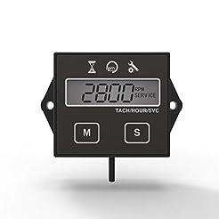 Runleader Digital Hour Meter Tachometer,...