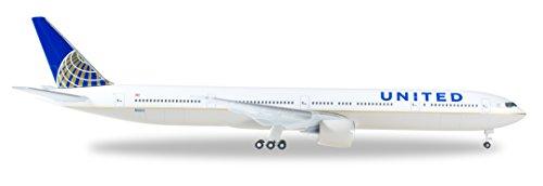Herpa 529877 United Airlines Boeing 777-300ER 1:500 Scale REG#N58031 Diecast Display (Herpa United Airlines)