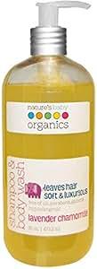 Nature's Baby Organics, Shampoo & Body Wash, Lavender Chamomile, 16 oz (473.2 ml)