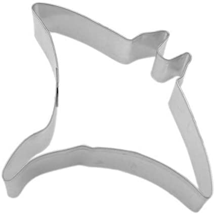 4.5 Manta Ray Metal Cookie Cutter #NA6069