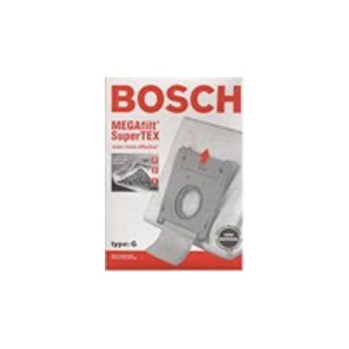 Bosch Part#462544 - Genuine Type G MEGAfilt SuperTEX Vacuum Bag (BBZ51AFG2U) - Fits Bosch Compact Series and Formula Series Vacuums - 5/Package ()