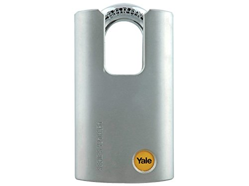 Yale Locks YALY210C51 51 mm Steel Padlock Closed (Closed Shackle Steel Padlock)