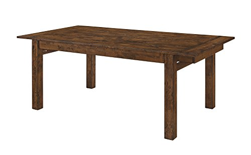 Coaster Alston Dining Dining Table - Coaster Hardwood Dining Table With Knotty Nutmeg Finish 107241 Coaster Hardwood Dining Table With Knotty Nutmeg Finish 107241 Coaster Hardwood Dining Table With Knotty Nutmeg Finish 107241 - kitchen-dining-room-furniture, kitchen-dining-room, kitchen-dining-room-tables - 317QsepIC4L -