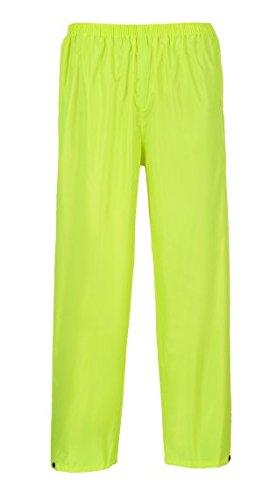 Portwest US441YERXXL Regular Fit Classic Adult Rain Pants, XX-Large, Yellow