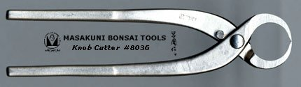 (8036)Masakuni bonsai tool Knob Cutter, small by Masakuni