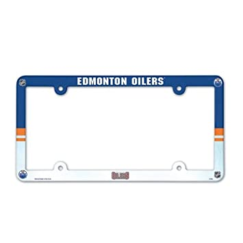 Wincraft NHL License Plate with Full Color Frame