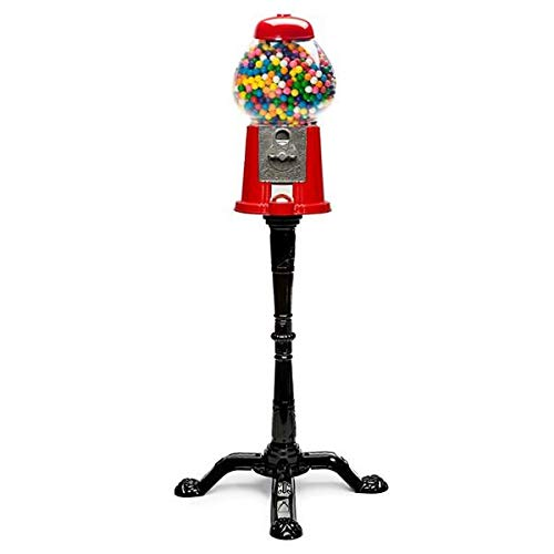 Gum Bubble Dispenser - Classic Gumball Machine Bank and Stand (37
