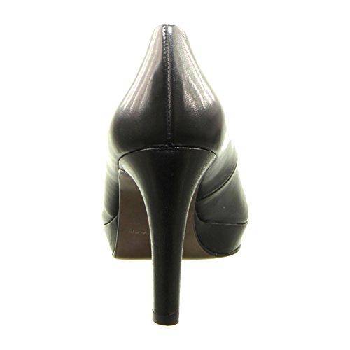 Paul Green Damen High Heels Größe 35 Schwarz (Schwarz)