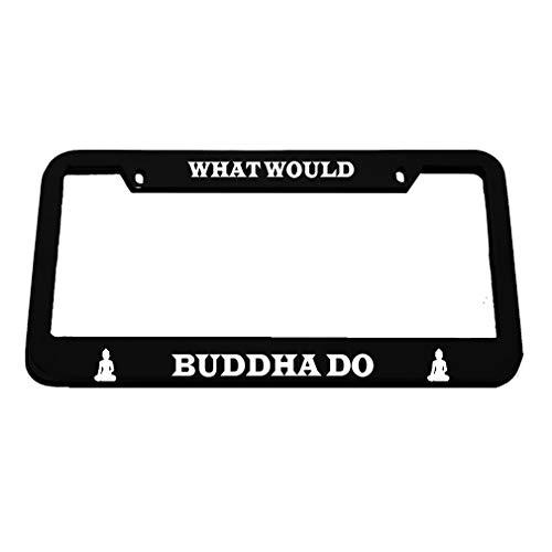 license plate frame buddha - 8