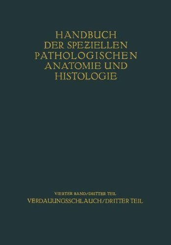 Verdauungsschlauch: Dritter Teil (Handbuch der speziellen pathologischen Anatomie und Histologie) (German Edition)