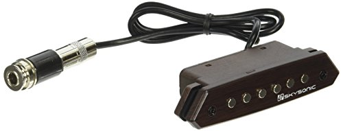 Skysonic Passive Acoustic Guitar Sound hole Pickup Humbucker A-810,Clear Sound with Tone and Volume Control by Skysonic