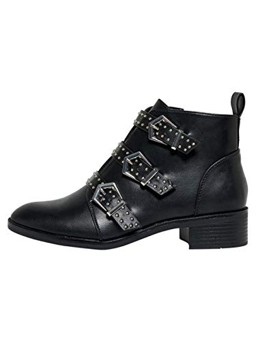 Bright Studs and Black by Only Booties Buckles Black wEt0nXqg