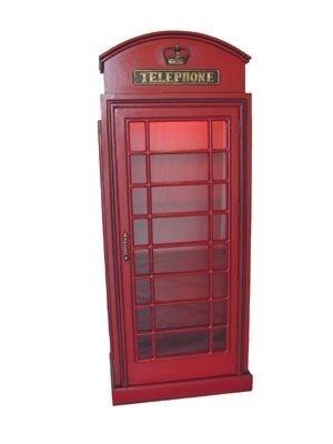 Phenomenal Amazon Com Lm Treasures British London Phone Booth Cabinet Download Free Architecture Designs Scobabritishbridgeorg
