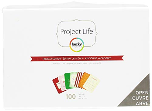 Project Life by Becky Higgins Holiday Mini Kit ()