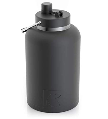 RTIC One Gallon Vacuum Insulated Jug, Black by RTIC
