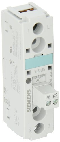 Siemens 3RW30 27-2BB04 Soft Starter, Spring Type Terminals, S0 Size, 200-480V Rated Operational Voltage, 24VAC/VDC Control Supply Voltage, 32 A Rated Operational Current at 40 Degrees Celsius