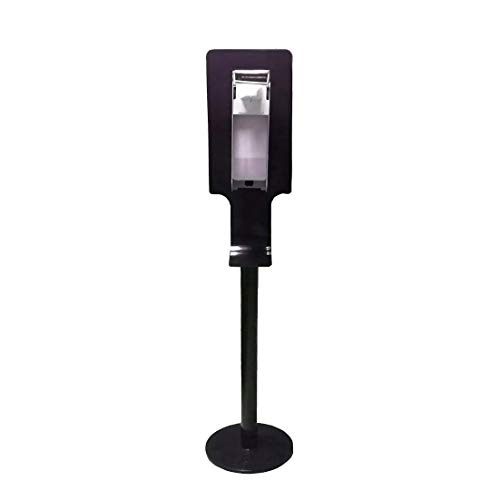 SQM EMI Desinfectiestandaard, dispenser, hygiënische toren, handmatig, desinfectiemiddelstation