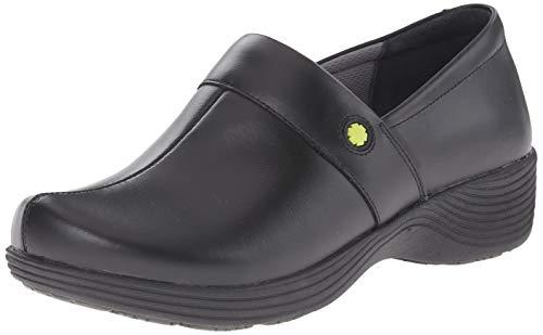 - Dansko Women's Camellia Clog, Black Leather, 39 Medium EU (8.5-9 US)
