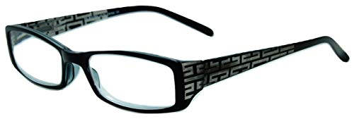 In Style Eyes Super Strength II High Magnification Reading Glasses black ()
