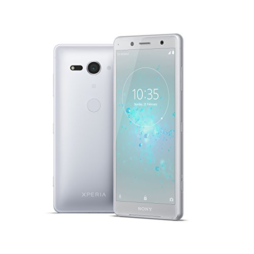 "Xperia XZ2 Compact Unlocked Smartphone - 5"" Screen - 64GB - White Silver (US Warranty)"