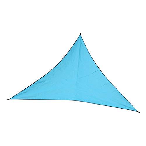 ❤Lemoning❤ Sun Shade Rainproof Sail Water Canopy Patio Awning Garden Cover Awning UV - Plate Memorial Block