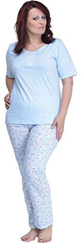 Merry Style Pijama para Mujer Alla Especial 1039 HellAzul