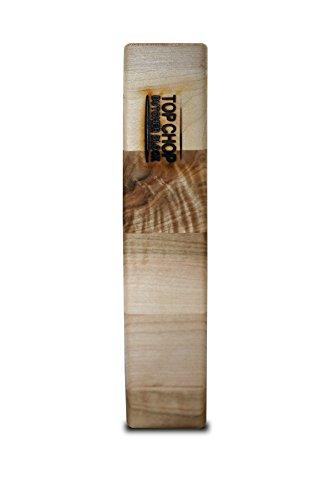 317R8bWxbLL - Top Chop Butcher Block PGM-20182 Reversible Cutting Board, 20 x 18 x 2 Inch (Maple)