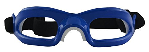 Challenger Lensless Coloured Eyeguards - Blue -