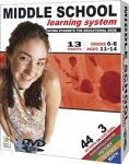 Middle School Learning System (3 DVD Set) by FOGWARE