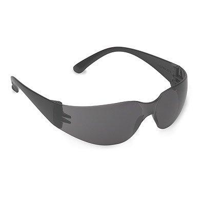 Bulldog Black Frame Gray Lens Safety Glasses ANSI Z87.1-200312 PACK by Cordova
