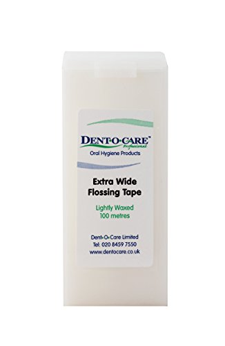 Dent-O-Care Extra Wide Flossing Tape 100m by