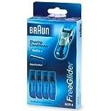 Braun SCR4 FreeGlider Shaving Conditioner (4 Pack)