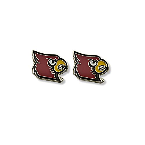 (NCAA Louisville Cardinals Team Post Earrings)