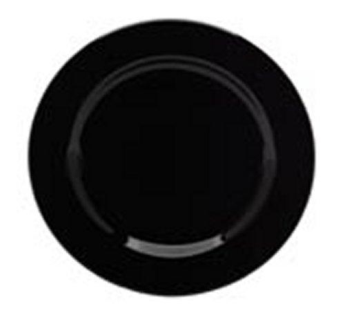 (Waechtersbach Fun Factory Salad Plates, Black, Set of 4)