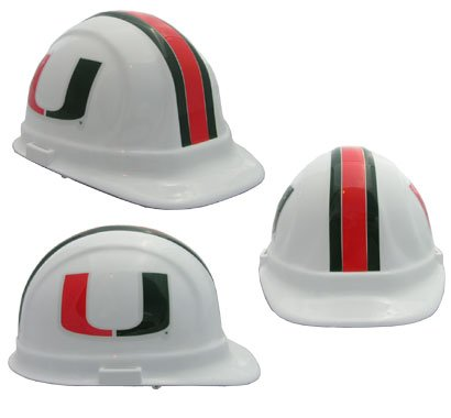 WinCraft NCAA University of Miami (Florida) Packaged Hard Hat ()