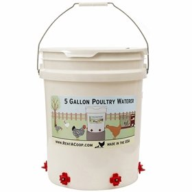 Drip-Free Poultry Nipple Drinker, 5 Gallons (6 nipples)