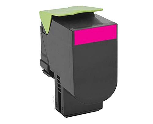 Lexmark 78C00MG TAA-Compliant Magenta Return Program Toner Cartridge Toner