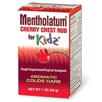Mentholatum - ChildrenS Chest Rub For Kids, Cherry Scented 1 Oz (Rub Chest Cherry)