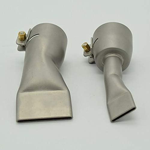 Tiamu 2Pcs Boquillas De Soldadura Para Leister//Bak Calor De Aire Caliente 20Mm Y 40Mm Boquilla De Soldadura Plana