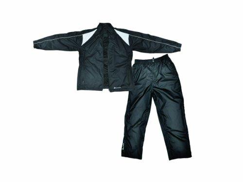 Orlimar Men's Cyclone Black Rain Suit (X-Large)
