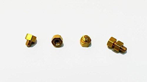 Team BlackSheep TBS POWERCUBE Aluminum - Gold Standoffs