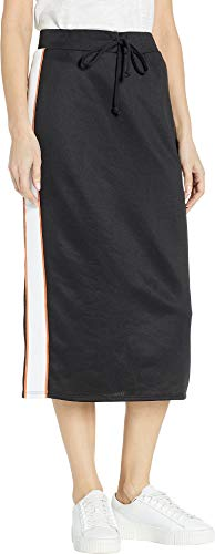 Juicy Couture Women's Tricot Midi Skirt Pitch Black Small ()
