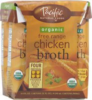 Pacific Natural Foods Organic Broth Chicken -- 8 fl oz (Pacific Chicken Stock compare prices)