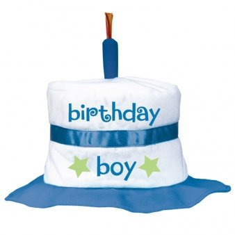 First Birthday Boy Fabric Cake Hat Amazoncouk Baby