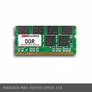DMS Compatible/Replacement for MAXDATA 300705 Eco 3200X 512MB DMS Certified Memory 200 Pin DDR PC2700 333MHz 64x64 CL 2.5 SODIMM - DMS