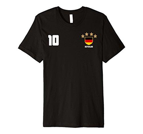 Mens Deutscher Deutschland Germany Soccer Jersey T-Shirt Large - Deutschland Germany